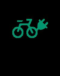 Verhuur van elektrische fietsen